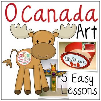 O Canada Art Activities
