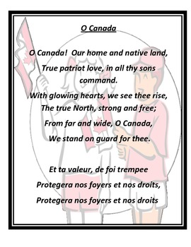 O Canada (Bilingual Version)