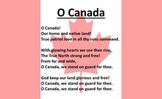 O Canada - English Language poster