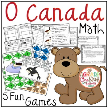 O Canada Math Games