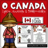 O Canada Posters, Awards and Bookmarks