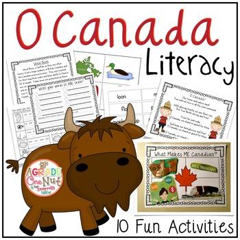 O Canada Unit: Literacy Activities