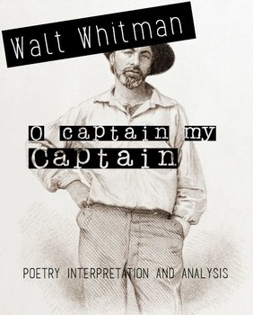 O Captain! My Captain Poetry Activity (Audiobook included)