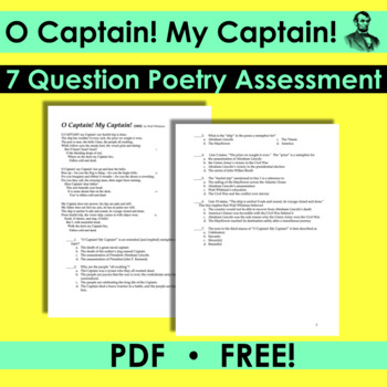 oh captain my captain by walt whitman analysis