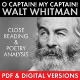 O Captain! My Captain! Walt Whitman Poetry Analysis, American Literature, CCSS