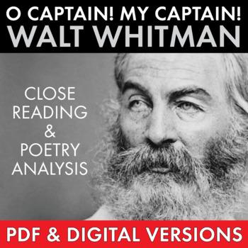O Captain! My Captain! Walt Whitman Compare & Contrast Poe