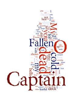 """O Captain, My Captain"" Whitman Poem Analysis and Art Prints"