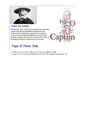 O Captain My Captain and Fredrick Douglas Poem Analysis and Comparison