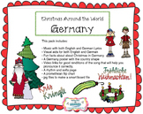 Christmas Around the World in Germany Pack- Music & more