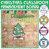 O Classroom Goals: Christmas Management Bulletin Board