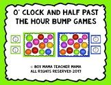 O'Clock and Half Past Bump Games