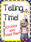 O'Clock and Half Past Telling Time