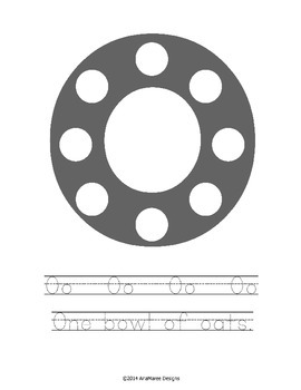 O Do-a-dot alphabet