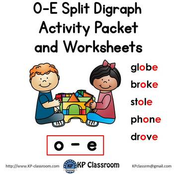 O-E Split Digraph Activity Packet and Worksheets