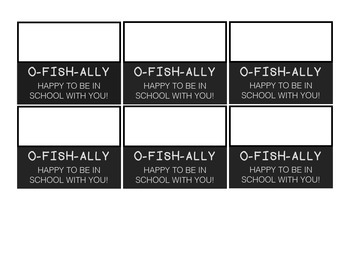 O-FISH-ALLY Back to School Tags