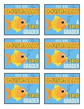 O-FISH-ALLY Bag Tags