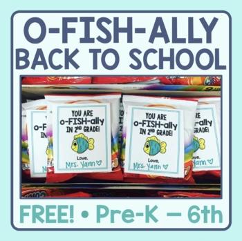 O-FISH-ally Back to School Printable