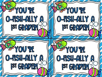 O-FISH-ally Editable Postcards to Welcome Students!