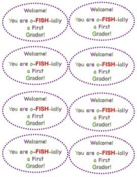 O-Fish-ially a First Grader