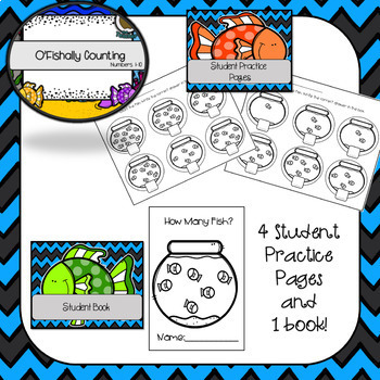 O'Fishally Counting Numbers 1-10 (SMART Notebook)