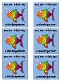 """O-Fish""ally in Kindergarten Labels"
