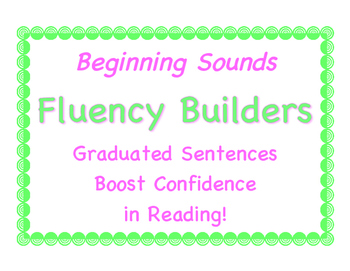 O-G Introductory Resource: A Beginning Reader's Fluency-Builder