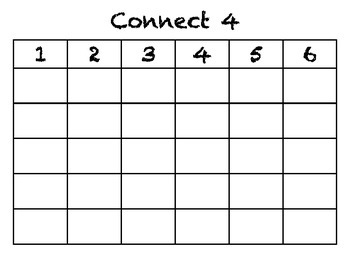 O-G Reading Drill: Roll & Read CONNECT 4 Gameboards