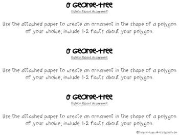 O Geome-Tree Interactive Bulletin Board Activity