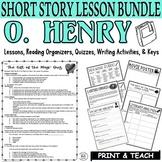 O. Henry BUNDLE: Common Core Reading ELA Test Prep (3 Texts) Quizzes/Activities