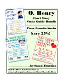 O. Henry Bundle 1: Three Close Reading Study Guides
