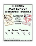 O. Henry, Jack London Webquest Bundle | Distance Learning