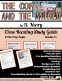 O. Henry: The Cop and the Anthem: Close Reading Study Guid