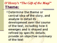 """O'Henry's Classic """"The Gift of the Magi"""" Lesson Plan / Pow"""