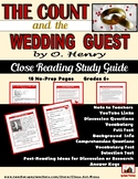 "O. Henry: ""The Count and the Wedding Guest"" Close Reading Study Guide"