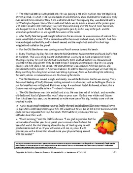 """O. Henry: """"Two Thanksgiving Day Gentlemen"""" Study Guide (14 Pgs., Ans. Keys, $6)"""