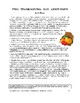 """O. Henry's """"Two Thanksgiving Day Gentlemen"""" Study Guide (1"""