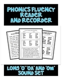 O OA OW - Phonics Fluency Assessment