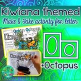 O = Octopus {Kiwiana Themed 'Make & Take' Alphabet Set}