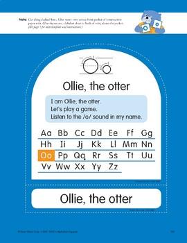 O: Ollie, the Otter