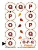 O P Q Letter Recognition Board Game File Folder reading Center Activity - PreK
