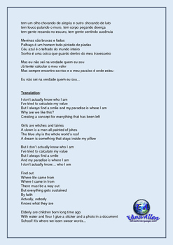 O Teatro Mágico Lyrics Translation