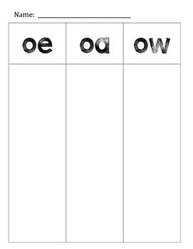 O Vowel Digraph Sort