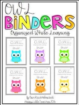 O.W.L Binders