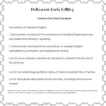 Halloween and Eerie Editing