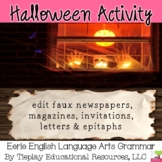 Halloween and Eerie Editing