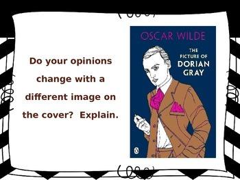 O. Wilde's The Picture of Dorian Gray (Writing Prompts - Diff. Act.)
