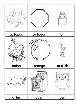 O. Words beginning with O flashcards