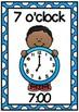 Clock Display Posters- O'clock Times