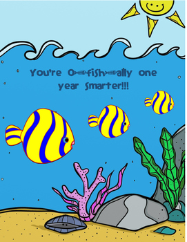 O-fish-ally One Year Smarter