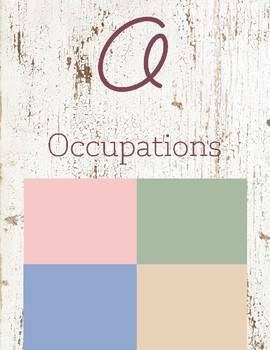 O is for Occupations